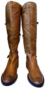Vera Pelle Leather Brown Boots