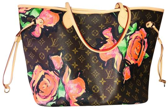Preload https://img-static.tradesy.com/item/24191004/louis-vuitton-neverfull-mm-monogram-with-dayglow-roses-tote-0-1-540-540.jpg