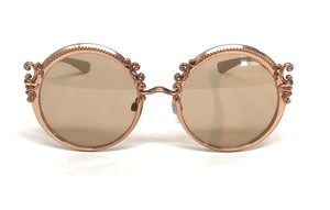 Dolce&Gabbana Vintage New Condition Large Rounded DG 2177 1298 Free 3 Day Shipping