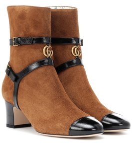 Gucci Ankle Brown Boots