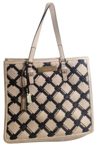 Calvin Klein Tote in beige and black