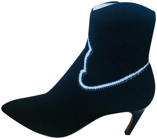 Preload https://img-static.tradesy.com/item/24191950/dior-black-and-white-ankle-in-jacquard-knit-bootsbooties-size-eu-36-approx-us-6-regular-m-b-0-1-540-540.jpg