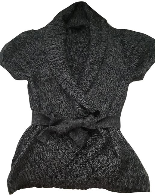 Preload https://img-static.tradesy.com/item/24192070/bcbgmaxazria-black-shawl-collared-puffy-short-sleeve-cardigan-size-12-l-0-1-650-650.jpg