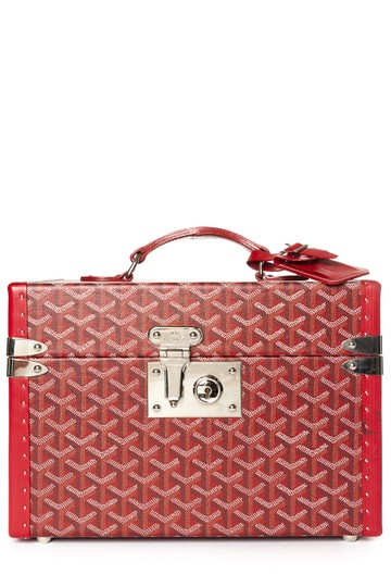 Preload https://img-static.tradesy.com/item/24192126/goyard-hand-painted-ine-boite-cosmetique-case-red-coated-canvas-weekendtravel-bag-0-0-540-540.jpg