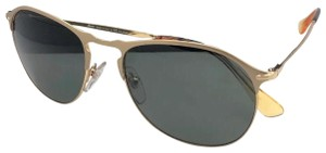 2ee3315a5ca9 Persol Polarized PERSOL Sunglasses 7649-S 1069/58 56-18 145 Gold Frame
