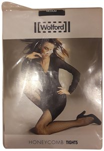 6280aa2c51f Wolford Wolford honeycomb print tights Nwt