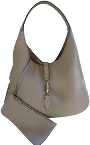 Gucci Jackie Leather Shoulder Hobo Bag