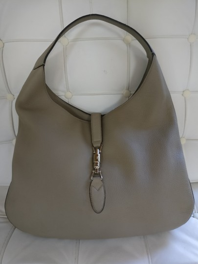 Gucci Jackie Leather Shoulder Hobo Bag Image 2