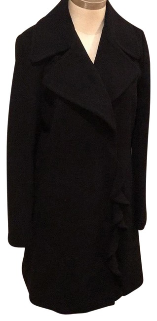 Preload https://img-static.tradesy.com/item/24192330/tahari-very-black-ruffle-coat-size-6-s-0-1-650-650.jpg