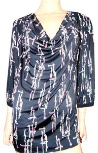 T-Bags Los Angeles Shirt Jersey Tunic Top Black