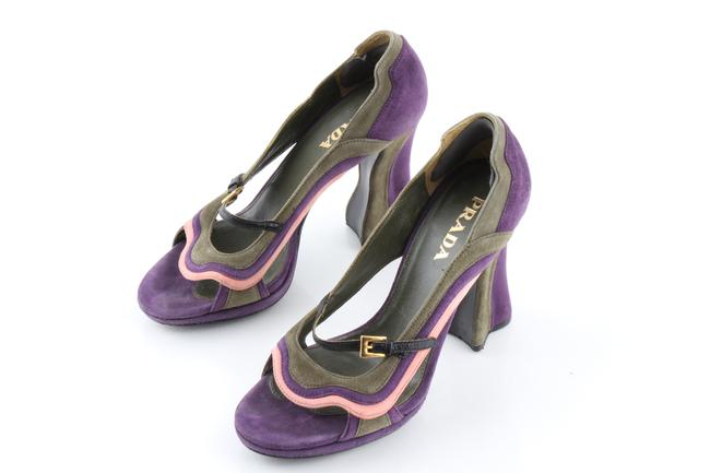 "Item - Multicolor Fairy Collection S/S 2008 ""Wave"" Pumps Size US 5.5 Narrow (Aa, N)"