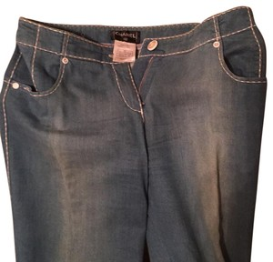 Chanel Boot Cut Jeans-Light Wash