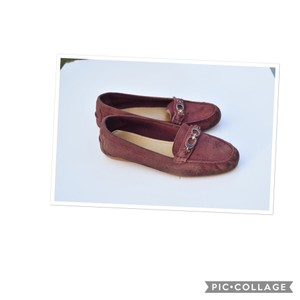 Coach dark red Flats