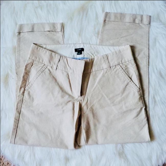J.Crew City Fit Crop Capri/Cropped Pants tan Image 2