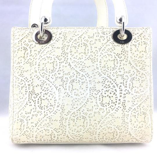 Dior Satchel in ivory, white Image 5