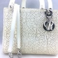 Dior Satchel in ivory, white Image 1