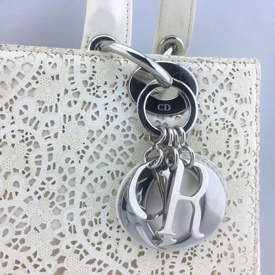 Dior Satchel in ivory, white Image 2