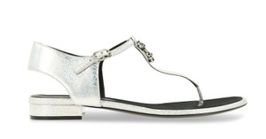 Chanel Party Silver Sandals
