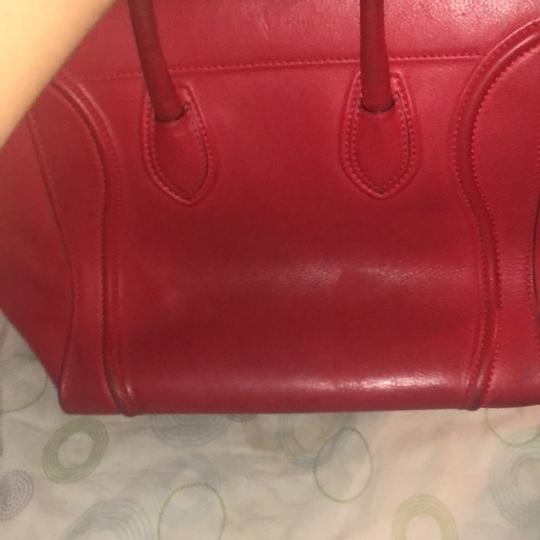 Céline Tote in red Image 4
