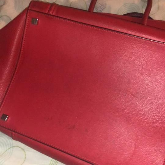 Céline Tote in red Image 5