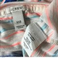 J.Crew Nautical Bold Layering Casual T Shirt Pink and Blue Stripes Image 2