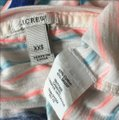 J.Crew Nautical Bold Layering Casual T Shirt Pink and Blue Stripes Image 3