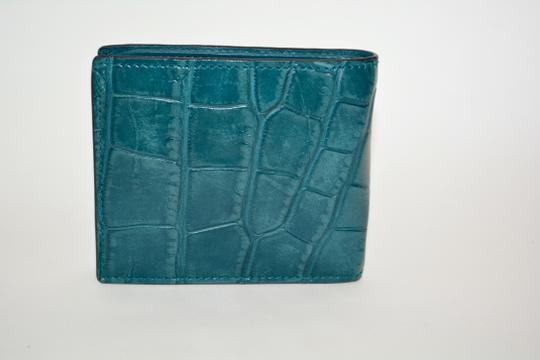Gucci NIB GUCCI CROCODILE LEATHER BIFOLD WALLET MADE IN ITALY Image 3