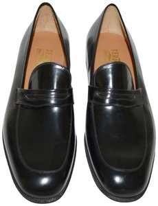 Salvatore Ferragamo Leather Loafer Black Formal