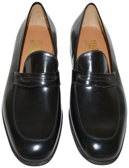 Preload https://img-static.tradesy.com/item/24193305/salvatore-ferragamo-black-mens-leather-loafers-eu-405-formal-shoes-size-us-75-regular-m-b-0-1-540-540.jpg
