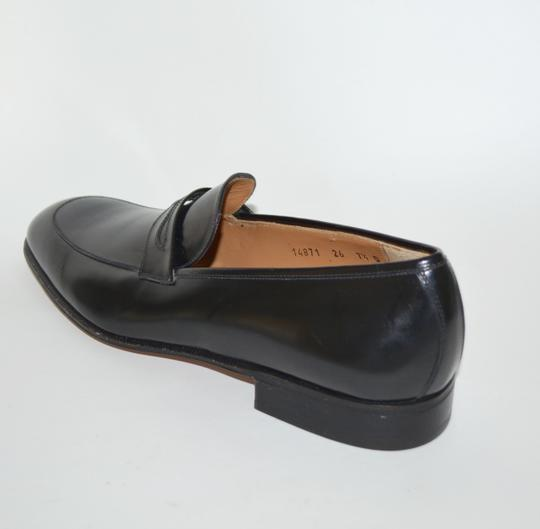 Salvatore Ferragamo Leather Loafer Black Formal Image 2