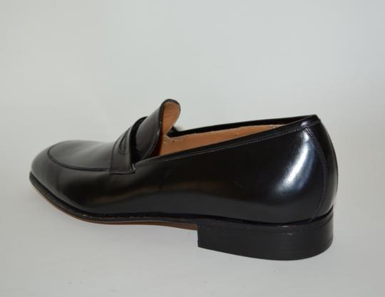 Salvatore Ferragamo Leather Loafer Black Formal Image 4