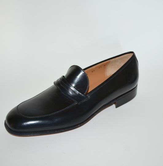 Salvatore Ferragamo Leather Loafer Black Formal Image 5