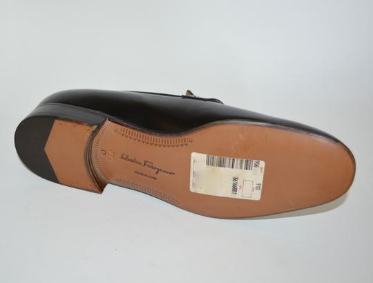 Salvatore Ferragamo Leather Loafer Black Formal Image 6