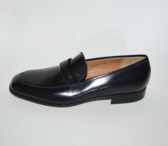 Salvatore Ferragamo Leather Loafer Black Formal Image 7