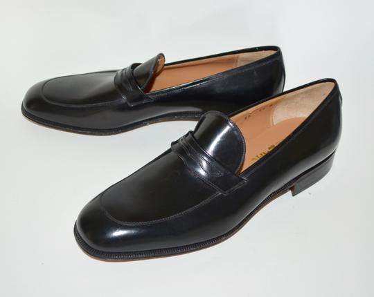 Salvatore Ferragamo Leather Loafer Black Formal Image 8