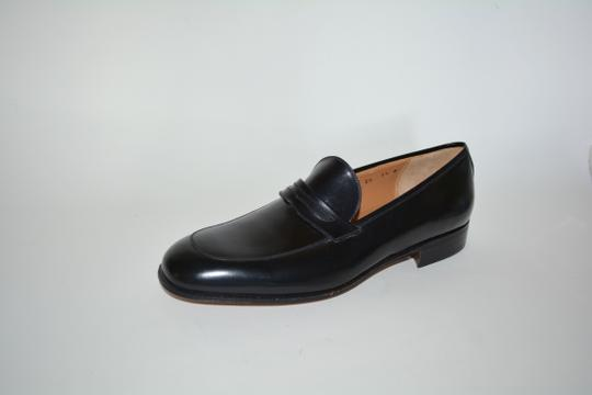Salvatore Ferragamo Leather Loafer Black Formal Image 9