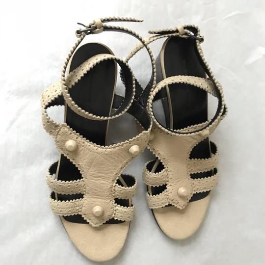 Balenciaga Tan Sandals Image 5