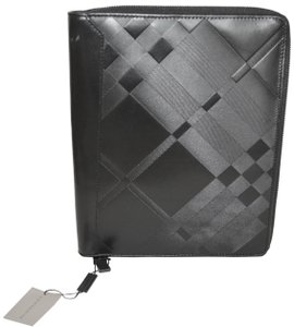 141d0d2eab9 Burberry NWT BURBERRY  425 QUILT CHECK LEATHER TABLET IPAD COMPUTER SLEEVE  CASE