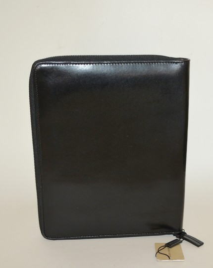 Burberry NWT BURBERRY $425 QUILT CHECK LEATHER TABLET IPAD COMPUTER SLEEVE CASE Image 1