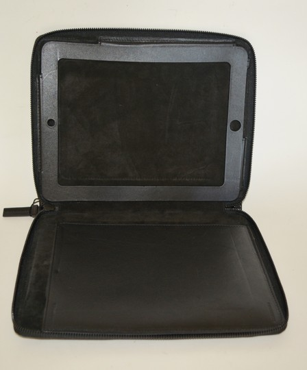 Burberry NWT BURBERRY $425 QUILT CHECK LEATHER TABLET IPAD COMPUTER SLEEVE CASE Image 5