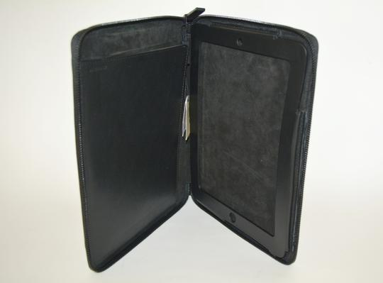 Burberry NWT BURBERRY $425 QUILT CHECK LEATHER TABLET IPAD COMPUTER SLEEVE CASE Image 6
