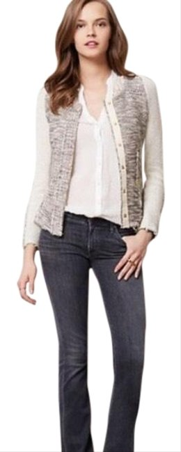 Preload https://img-static.tradesy.com/item/24193505/anthropologie-black-white-cartonnier-glimmer-metallic-tweed-jacket-blazer-size-8-m-0-1-650-650.jpg
