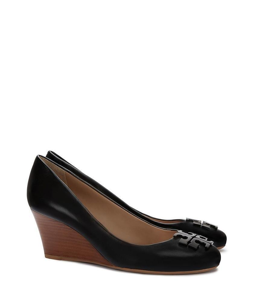 5e569fc17da Tory Burch Black   Lowell 2   65mm Pumps Wedges Size US 9 Regular (M ...