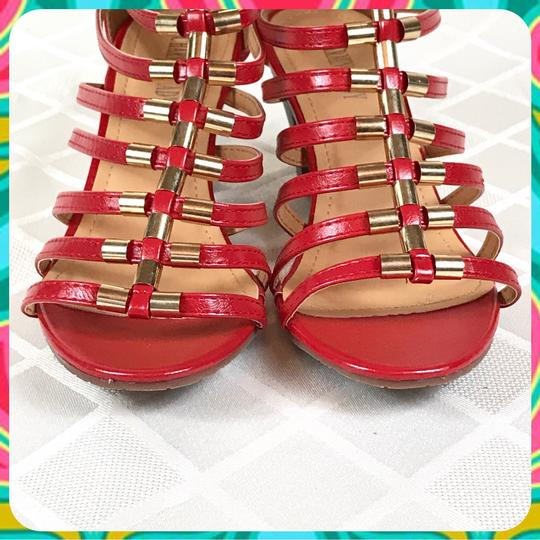 Charming Lady Red Sandals Image 2