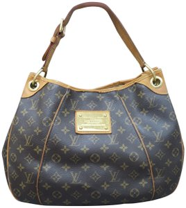 Louis Vuitton Galliera Canvas Hobo Bag