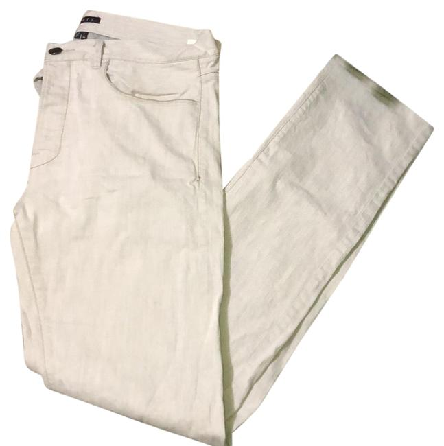 Item - Light Grey Wash Straight Leg Jeans Size 12 (L, 32, 33)