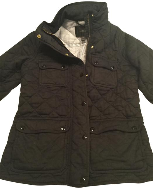 Item - Navy Quilted Jacket Size 2 (XS)