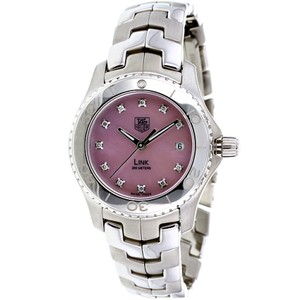 TAG Heuer TAG HEUER LADIES DIAMOND AND PINK MOTHER OF PEARL DIAL