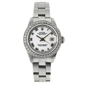 Rolex Rolex Datejust Lady 26MM Stainless Steel Diamond Bezel - 69160