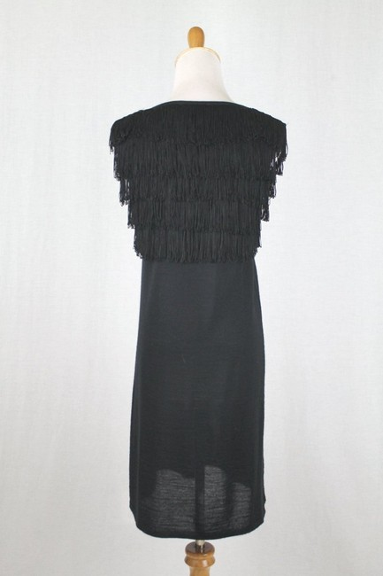 Paul & Joe Flapper Sweater Shift Shift Fringed Dress Image 4